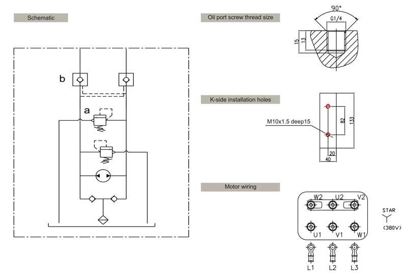 Truck Limiter Hydraulic Power Unit Hydraulic Power Unit