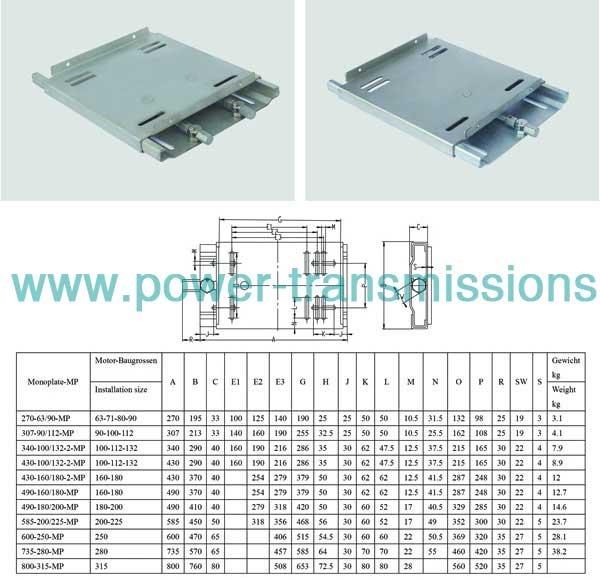 Motor Slide Base China Manufacturer Chinabase Power