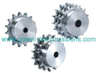DIN Stock sprockets & Platewheels